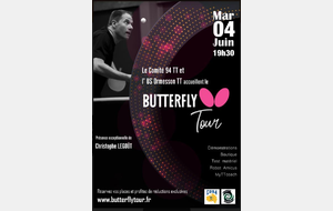 Animation BUTTERFLY Mardi 4/06/19 à 19h30 (Espace Max HAUSLER)